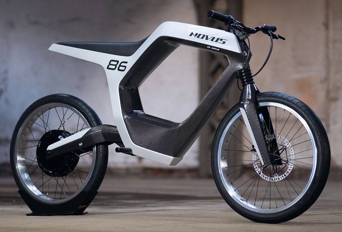 NOVUS – 🛵 Electric Moped Scooter 2020