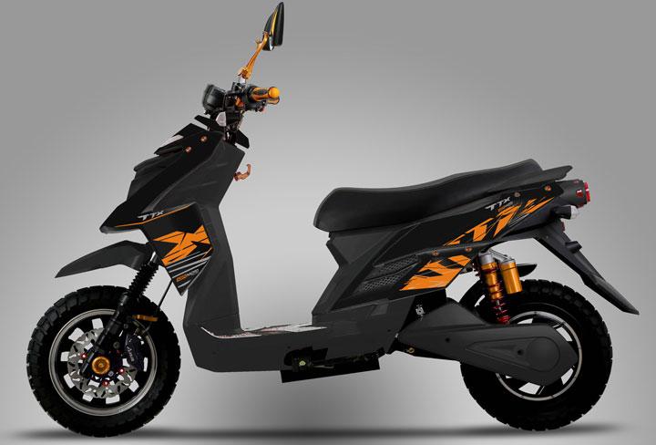 ksr moto ttx electric scooters 2019. Black Bedroom Furniture Sets. Home Design Ideas