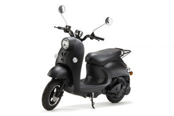 unu scooter front left