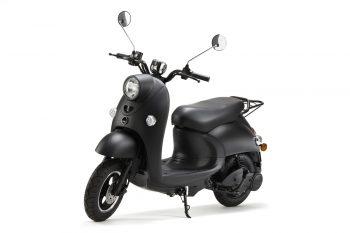 unu scooter front left
