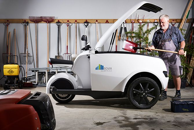 Tripl urban cargo electric scooters 2018 for Motor cargo freight company
