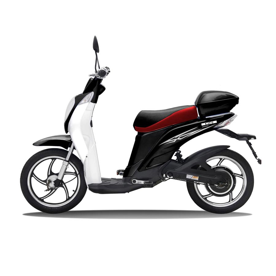 nimoto city 350 electric moped scooter 2019. Black Bedroom Furniture Sets. Home Design Ideas
