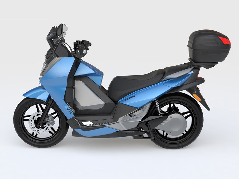 Vectrix Vt 1 🛵 Electric Moped Scooter 2019