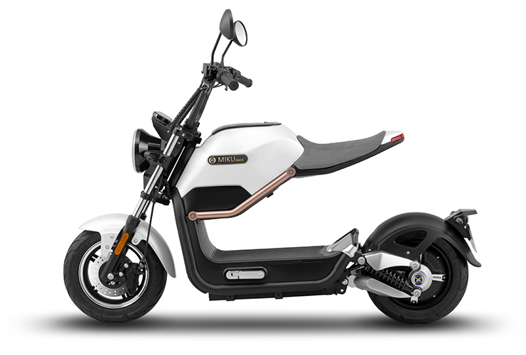 Sunra Miku Max – 🛵 Electric Moped Scooter 2019