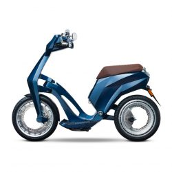Ujet collapsible electric scooter