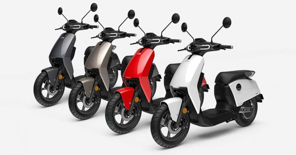 Electric Moped Scooter >> Super Soco CU – 🛵 Electric Moped Scooter 2019