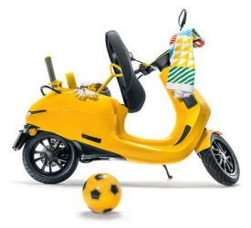 Appscooter yellow