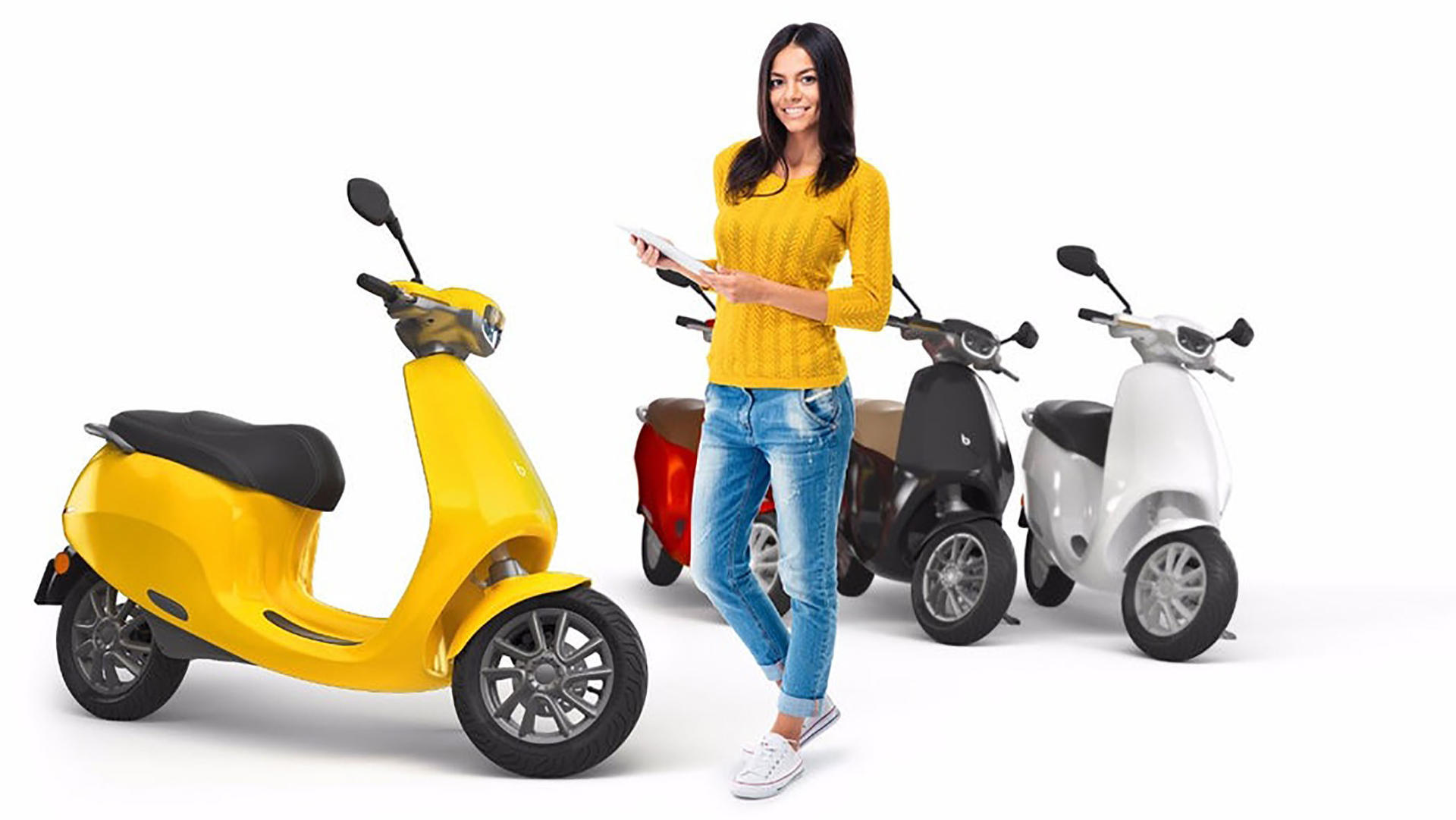 Etergo AppScooter – 🛵 Electric Moped Scooter 2019