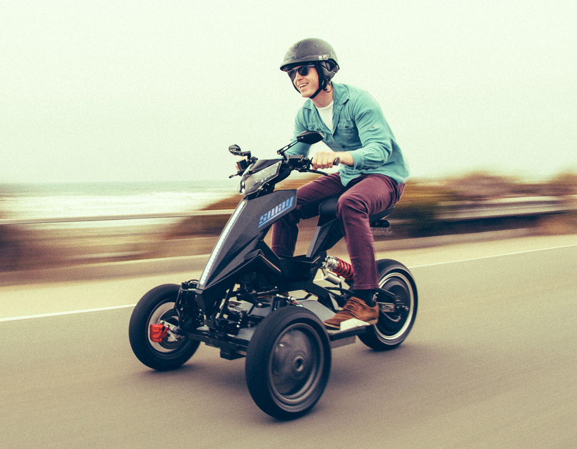 Sway Lithium 🛵 Electric Moped Scooter 2020