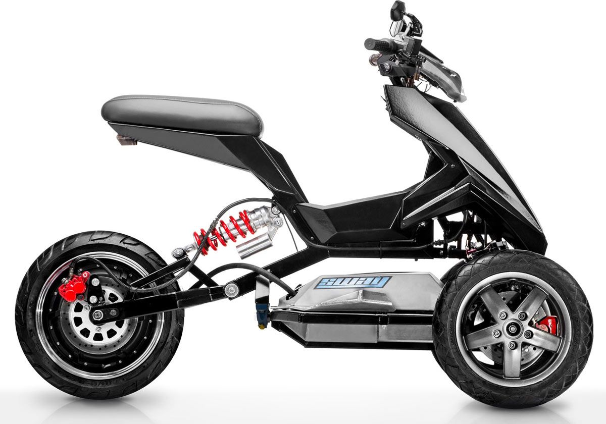 sway lithium electric moped scooter 2019. Black Bedroom Furniture Sets. Home Design Ideas
