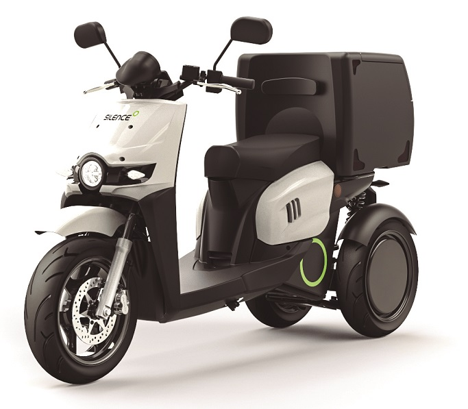Silence S03 Delivery Three Wheeler 🛵 Electric Moped